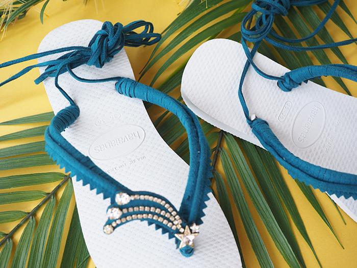7~8月メリアルームスクールシーズンレッスン Summer Lesson 2 ハワイアナスビーチサンダルネイビー2