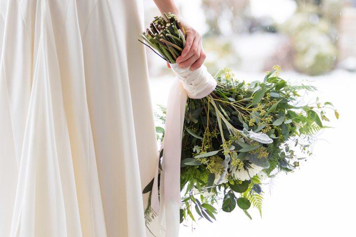 【ウエディング】シャンペトルブーケ~野原に咲いている草花を摘みながら束ねたようなブーケ