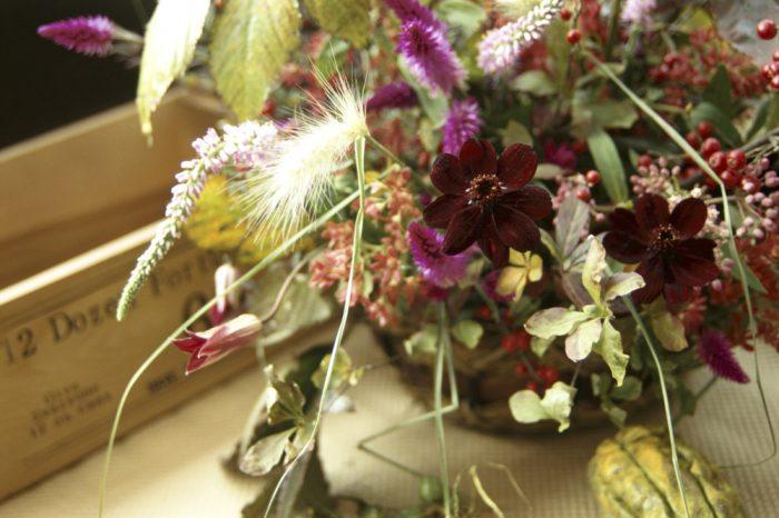 9月のウエディングにおすすめの花 こすもす