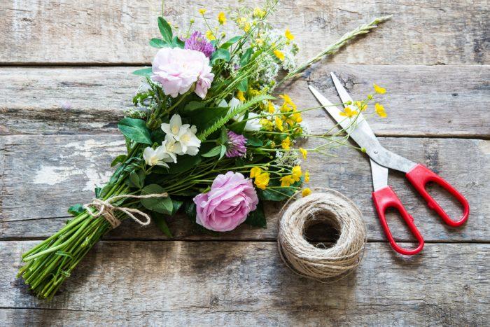 初心者さんも簡単に出来る、花束の作り方ポイント